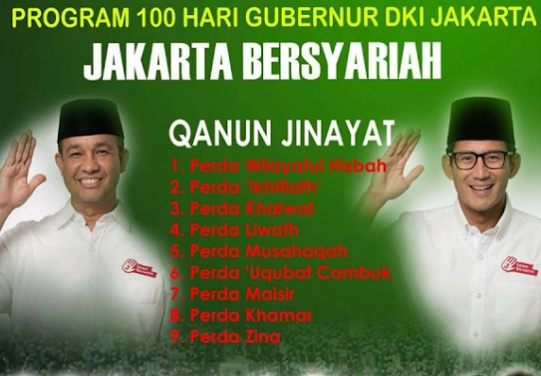 Kampanye hoax Jakarta Bersyariah