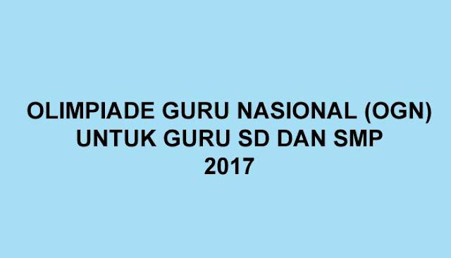 Olimpiade Guru Nasional 2017