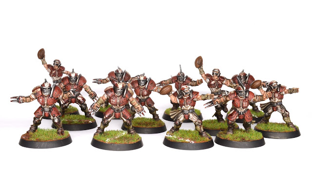 Showcase Blood Bowl Human Team Tale Of Painters