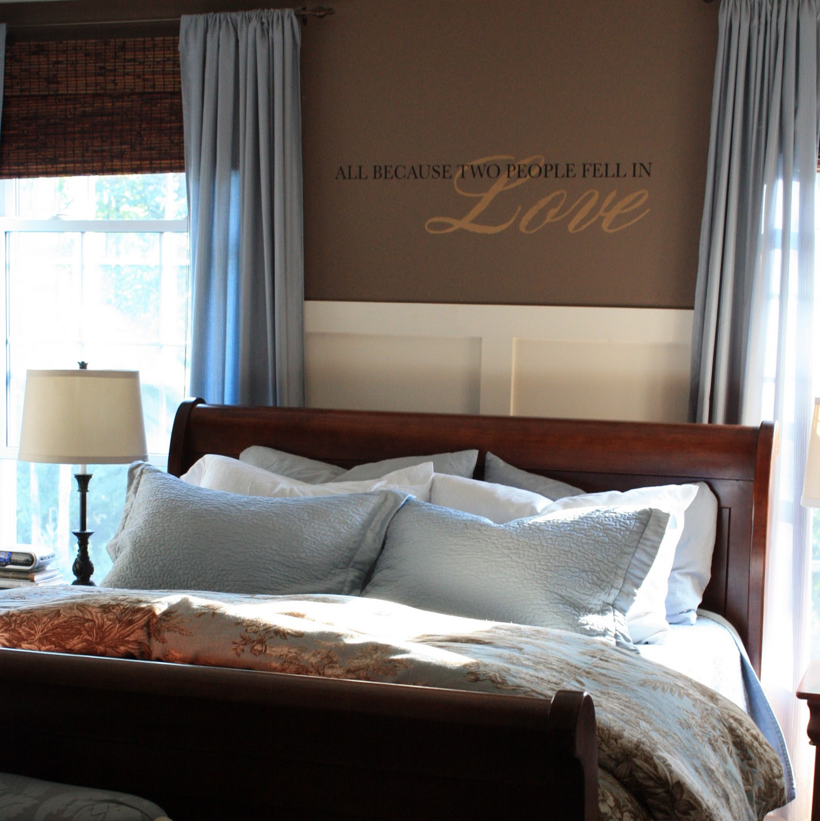 "Master Bedroom: The Yellow Cape Cod: My Master Bedroom In The ""Designer In"