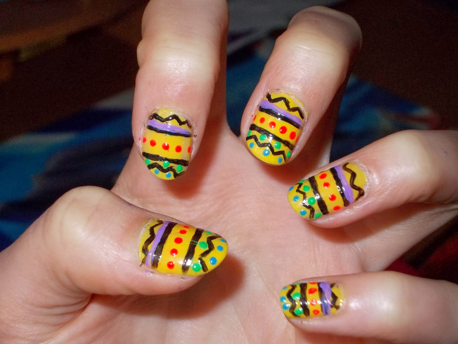 Colorful Nail Designs - Pccala