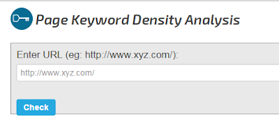 SEO Chat Keyword density tool