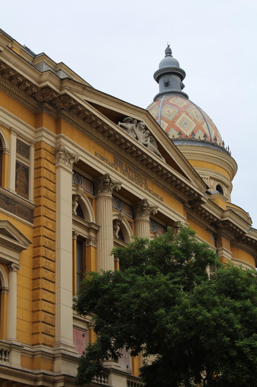 Bibliotheca Scientiarum Universitatis Hungaricae in Budapest