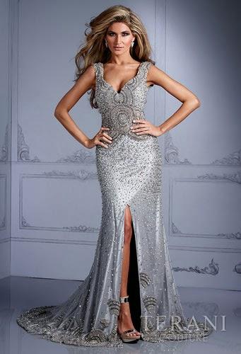 Cheer Night Dress - Grey |Fashion Night Dress 2014