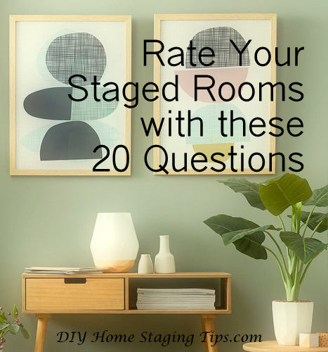 DIY Home Staging Tips: Can Your Home Pass This Staging Quiz?