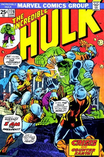 Incredible Hulk #176, the Man-Beast, Counter-Earth