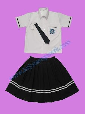 Jual baju model seragam TK PAUD nasional terbaru berkualitas