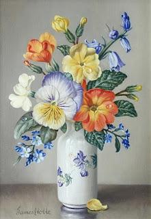 delicadas-composiciones-pinturas-de-flores flores-cuadros-decorativos