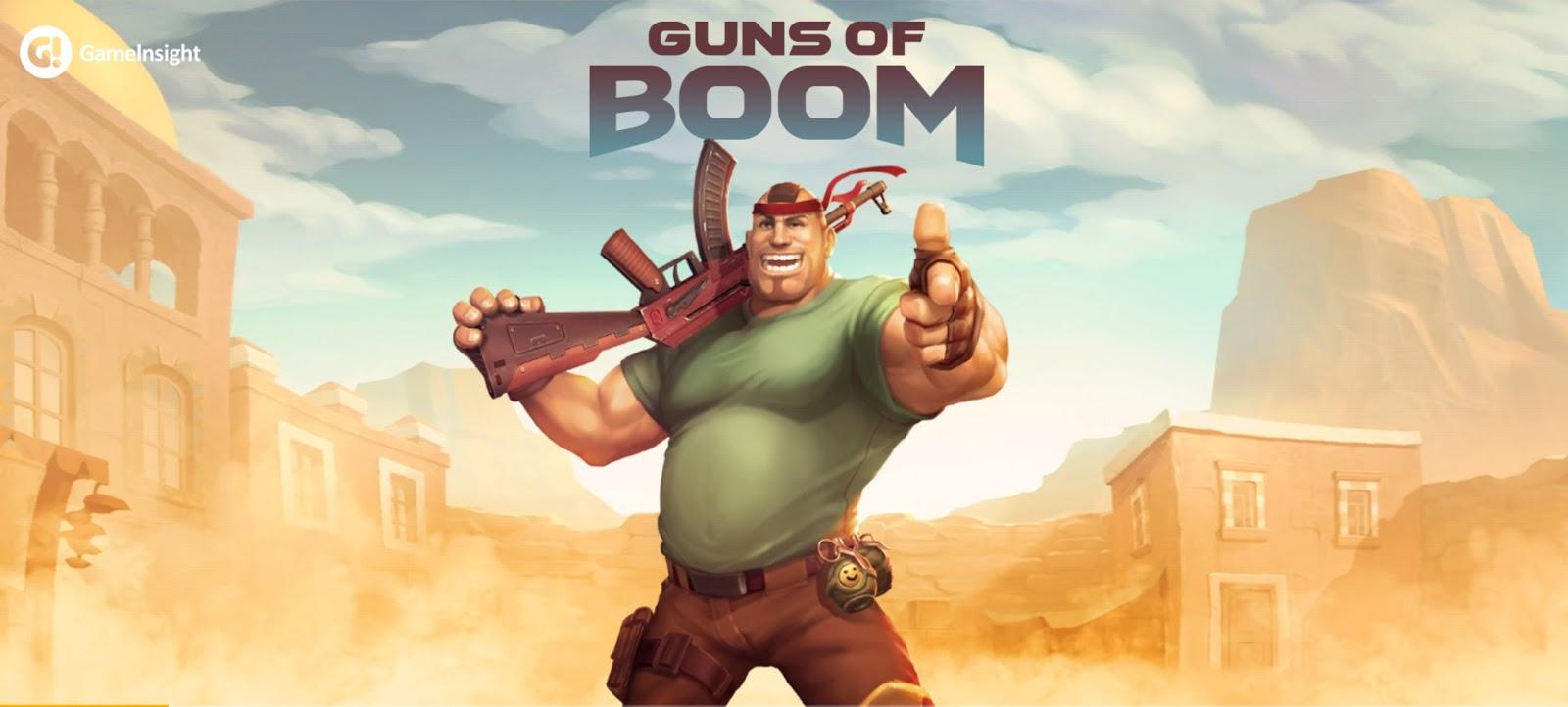 apk guns of boom mod