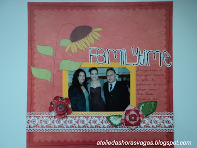 scrapbook family time