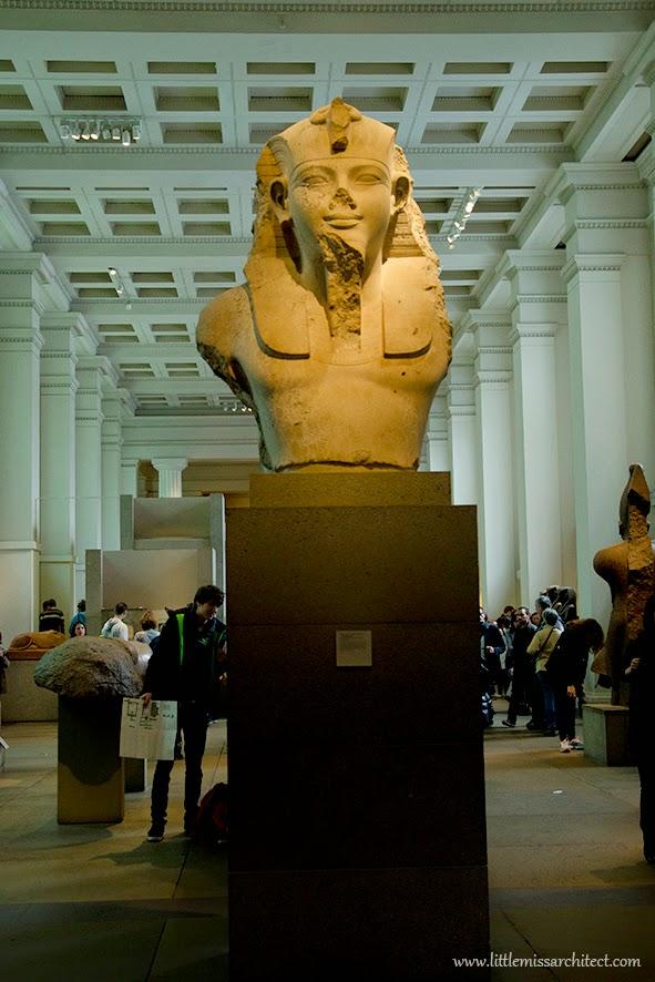 architektura w Londynie, atrakcje Londynu, British Museum