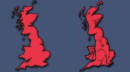 United Kingdom illustration