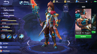 Hero Zilong (Fighter/Assasin)