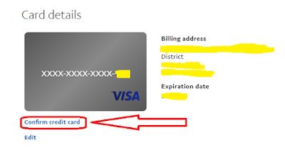 paypal liên kết với thẻ nào ?