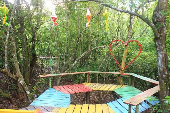 Pemandangan Mangrove Park bakau Besar 2 - Catatan Nizwar ID