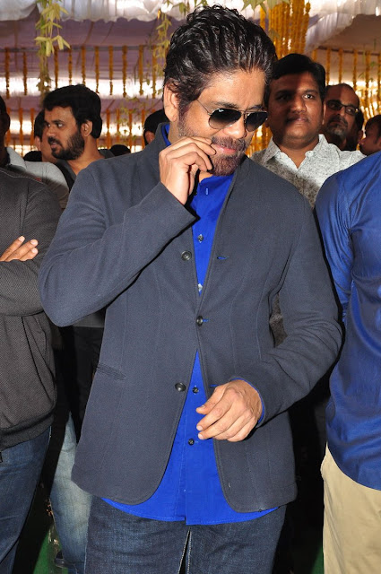 Nagarjuna at New Movie Launch Photos