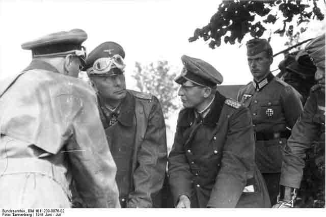 General Reinhardt and General Kruger 16 September 1941 worldwartwo.filminspector.com