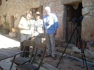 Vogelbeobachtung im Norden von Burgos
