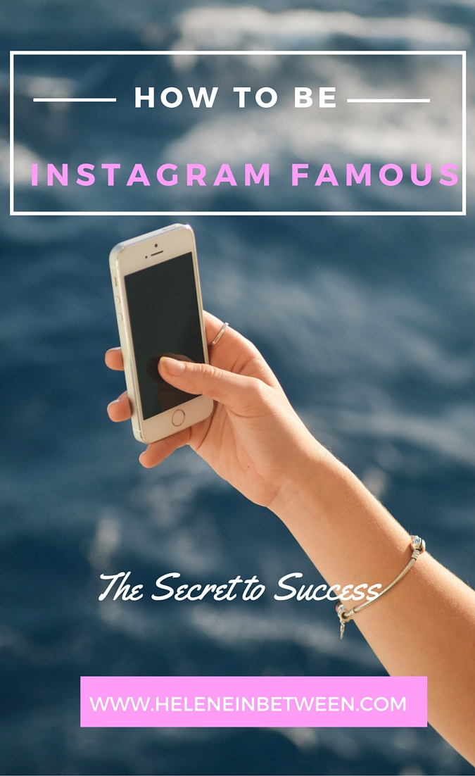 how to be instagram famous