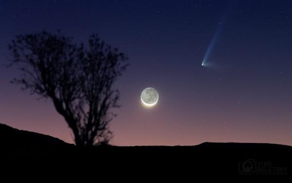 A leggyönyörűbb fotók a Panstarr üstökösről