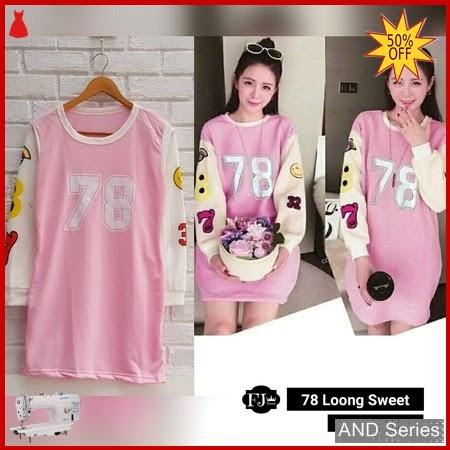 AND339 Baju Atasan Wanita Blouse 78 Loong BMGShop