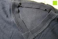 Kragen: ARMEDANGELS Herren Strickpullover aus Bio-Baumwolle - Miko - blau GOTS