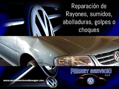 Latoneria Pequeñas Colisiones Volkswagen