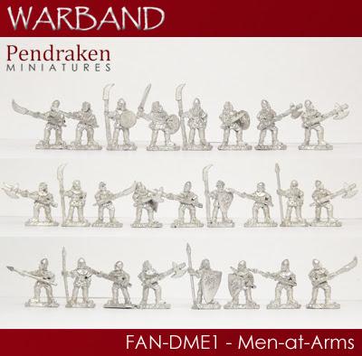 FAN-DME1   25 x Men-at-Arms