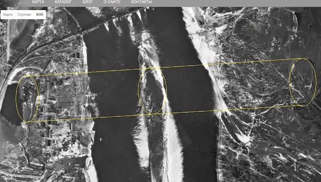 Овальные структуры на берегах Днепра