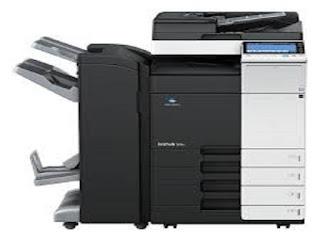 Picture Konica Minolta Bizhub 364E Printer Driver