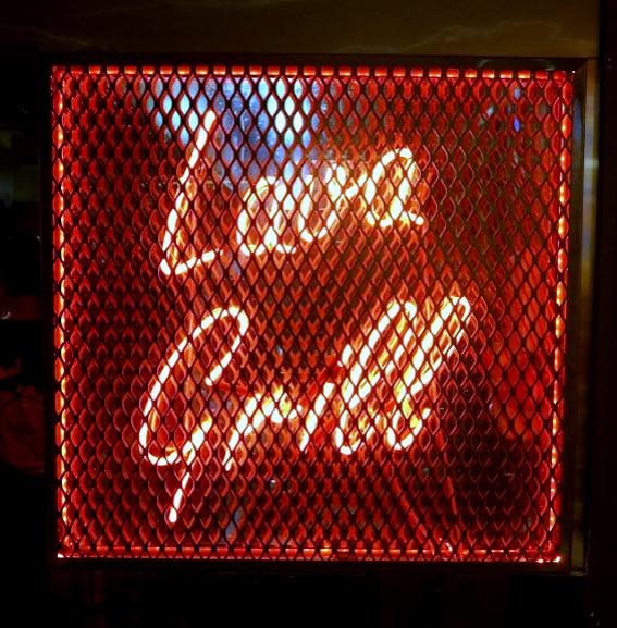 lava grill neon sign