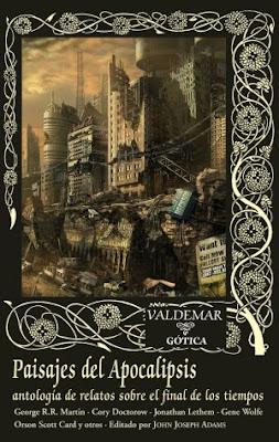 Paisajes del Apocalipsis, Recopilación editada por Valdemar Gótica