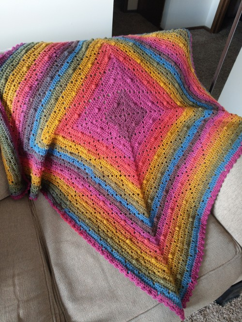 The Bakewell Blanket - Free Pattern