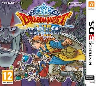 Dragon Quest VIII: El Periplo del Rey Maldito 3DS, español, mega, mediafire