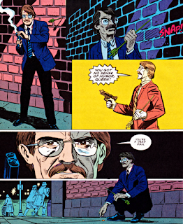 panels from Green Arrow v2 #37 (1990). Property of DC comics.