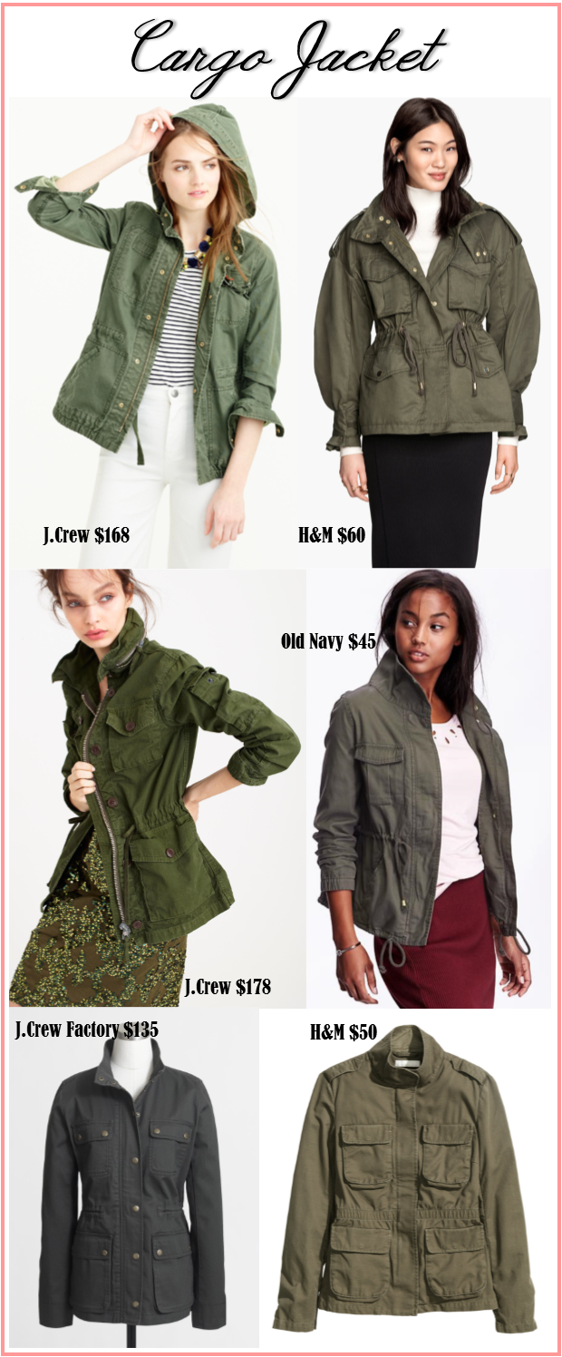 J.Crew Cargo Jacket for less Fall fashion