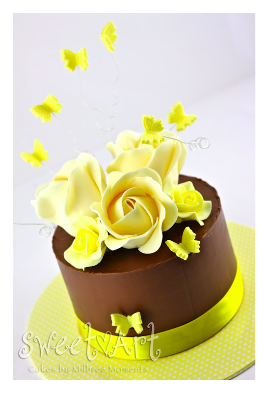 Sweet Art Cakes By Milbre 233 Moments The Happy Yellow