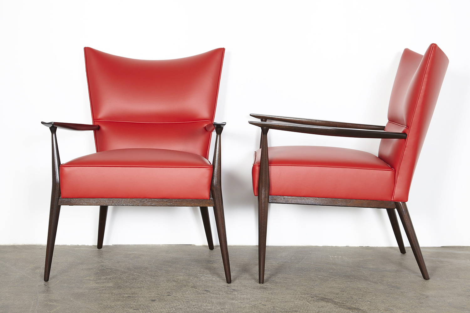Classic Design Before After Paul Mccobb Directional Chairs