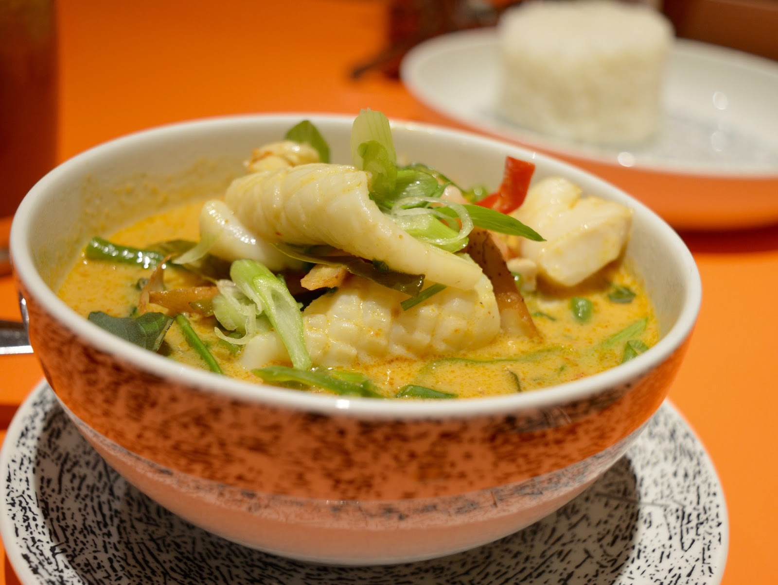Ko Sai Newcastle - Fixed Price Lunch Menu | A Review - Seafood curry and Jasmine rice