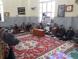 """إقامة الدرس الدوري لمعتمديات المجلس العشائري في بغداد بكتاب """"فقه العشائر"""""""