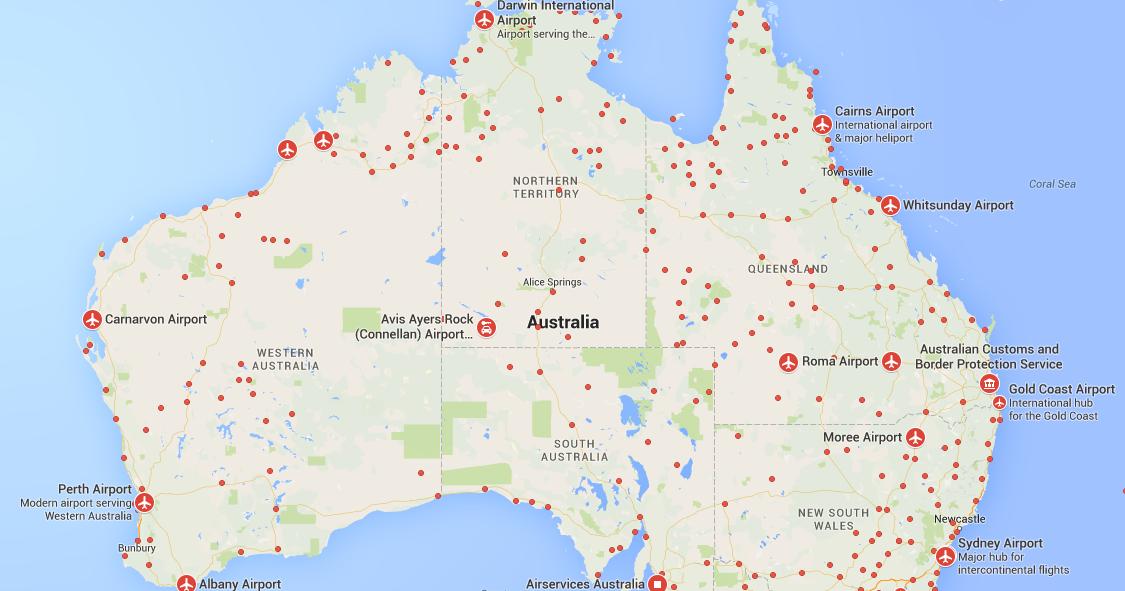 Australia Airports FlightRadar24 Plane Flight Tracker