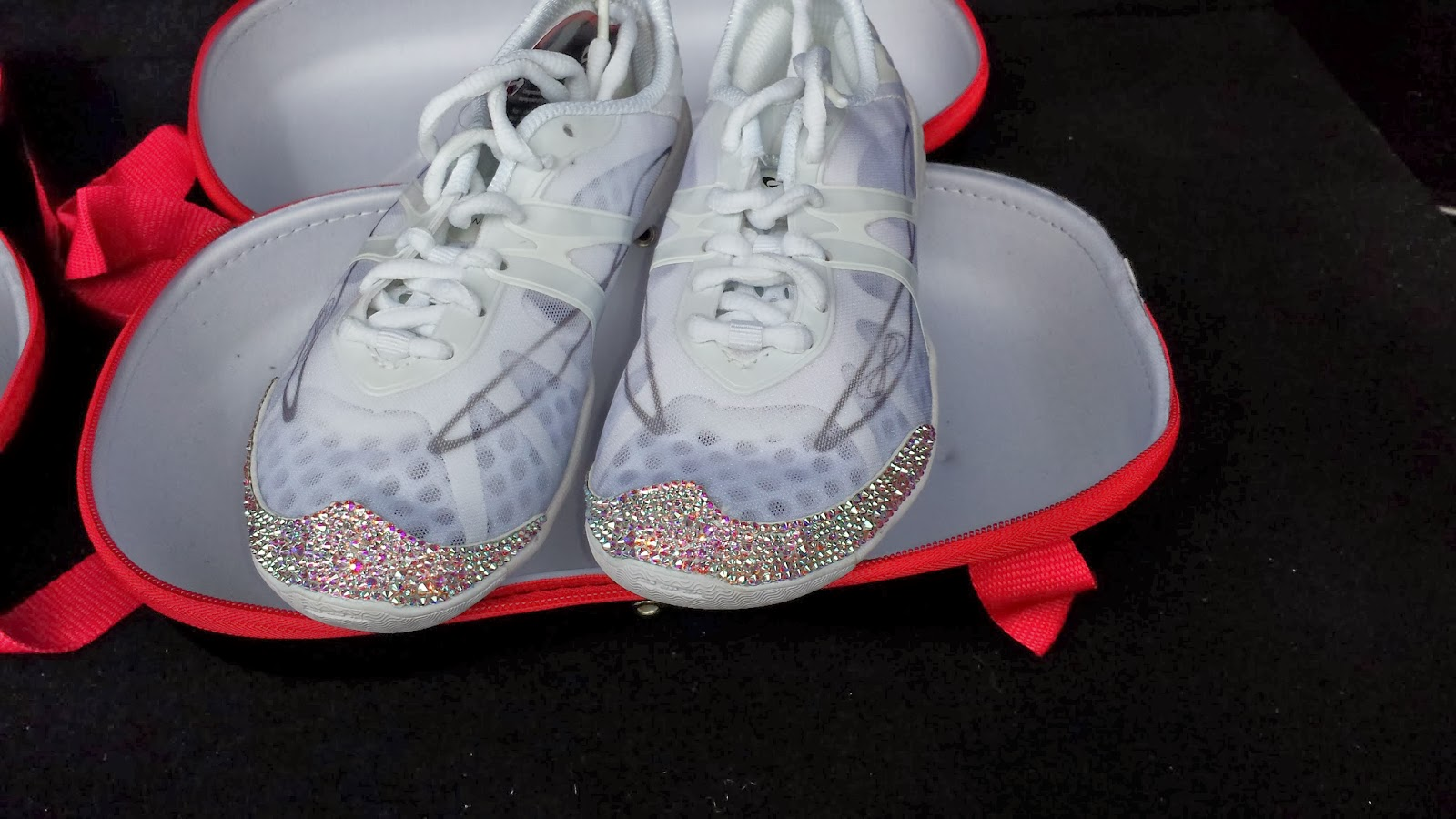 fa3c2856e1b Southern Crystal  Cheerleading Shoes in Crystal AB