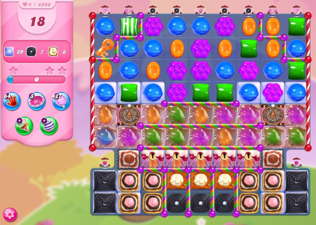 Candy Crush Saga level 4298