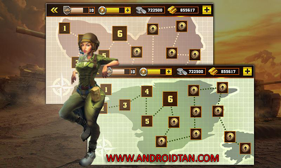 Free Download Tank Strike 2016 Mod Apk v1.5.4 (Unlimited Money) Android Terbaru 2017 Gratis