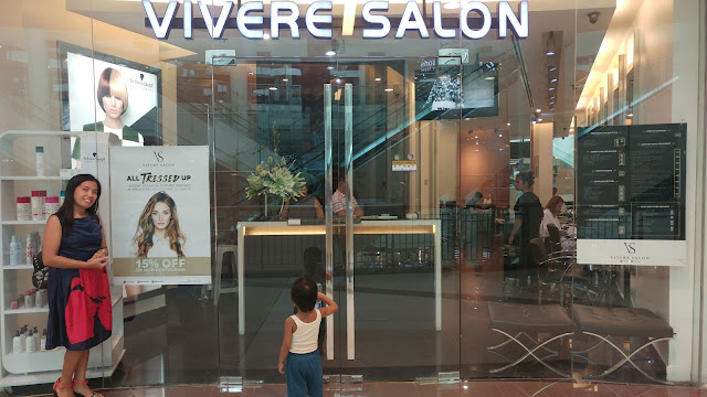 A long but stress-free hair treatment story at Vivere Salon Festival Mall with Stylist Raymond