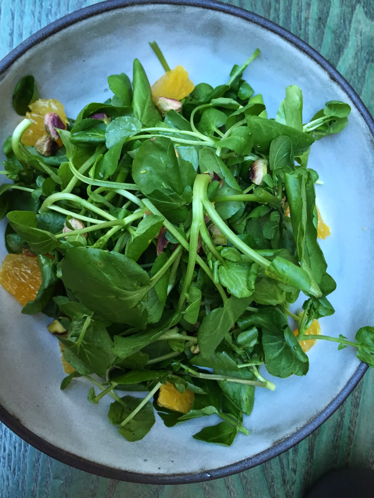 Taste Kitchen: watercress salad