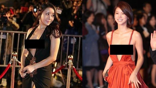 10 artis Korea berpenampilan terseksi di red carpet