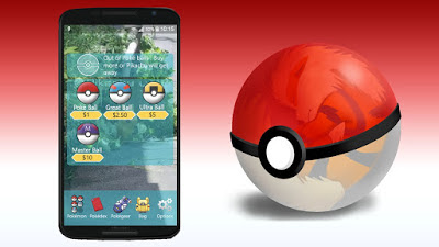 Cara Mendapat Pokeball Game Pokemon GO