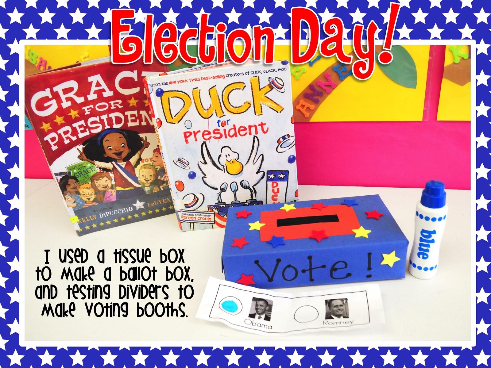 Mrs Ricca S Kindergarten Election Day Freebie