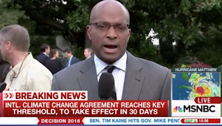 What?? NBC's Ron Allen Thinks Climate Deal Is 'Designed to Stop' Storms Like Hurricane Matthew